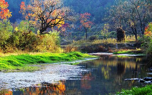 河南信陽新縣城風景